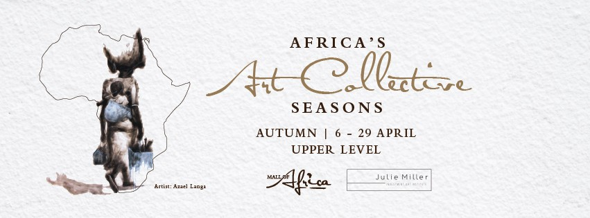 Selected ANTON DK Art available at: Africa's Art Collective Seasons at MALL of AFRICA